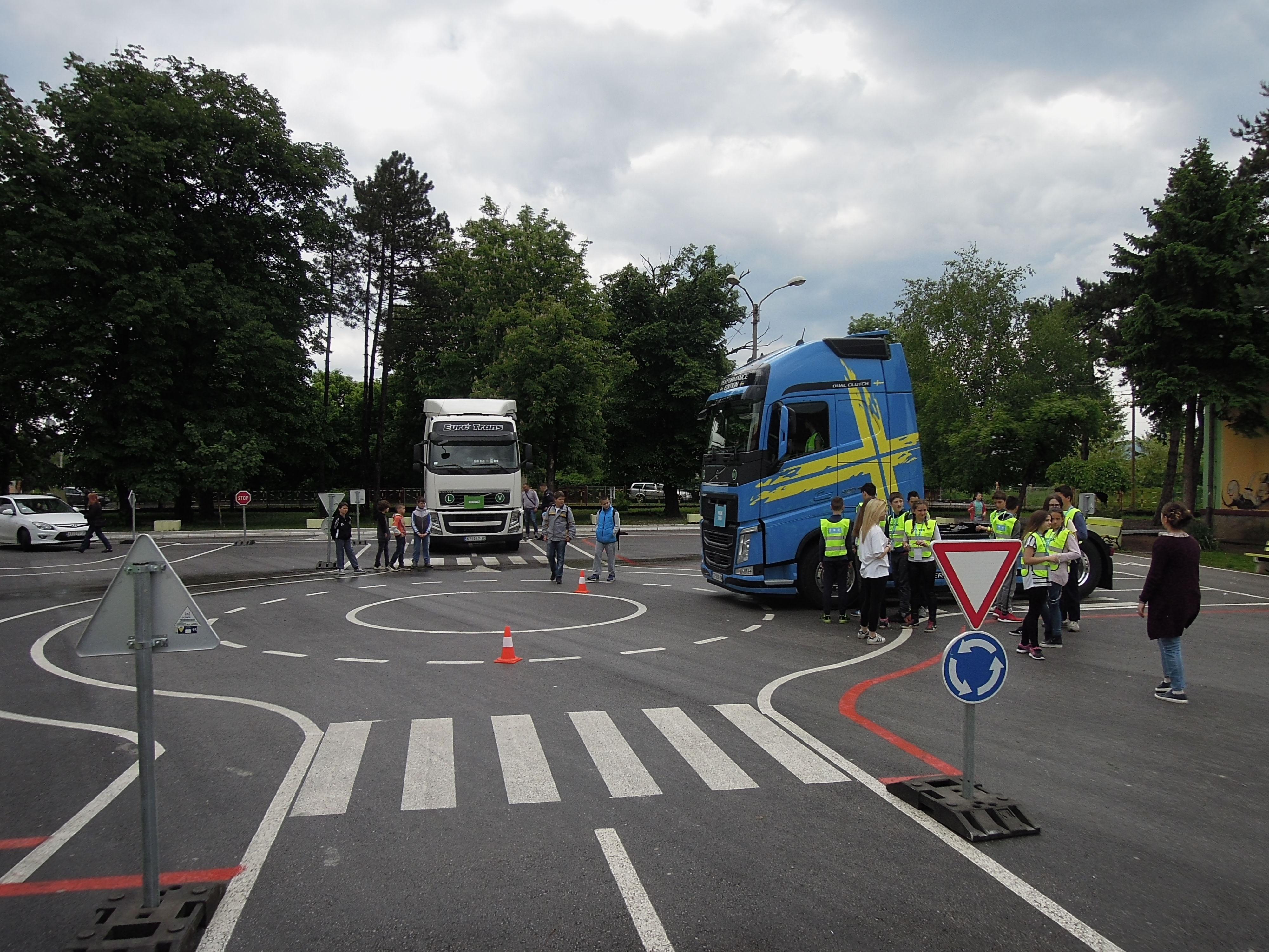 Volvo – edukativne radionice za decu - Stop, Look, Wave, organizovane u saradnji sa Event Plannerom