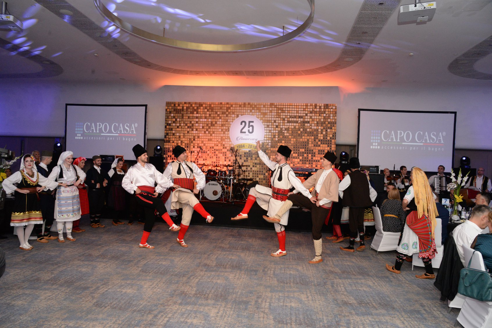 Celebrating 25 years of DIM Trade, event organized by Event Planner and Ana Aleksic - KUD Jana performs traditional dance