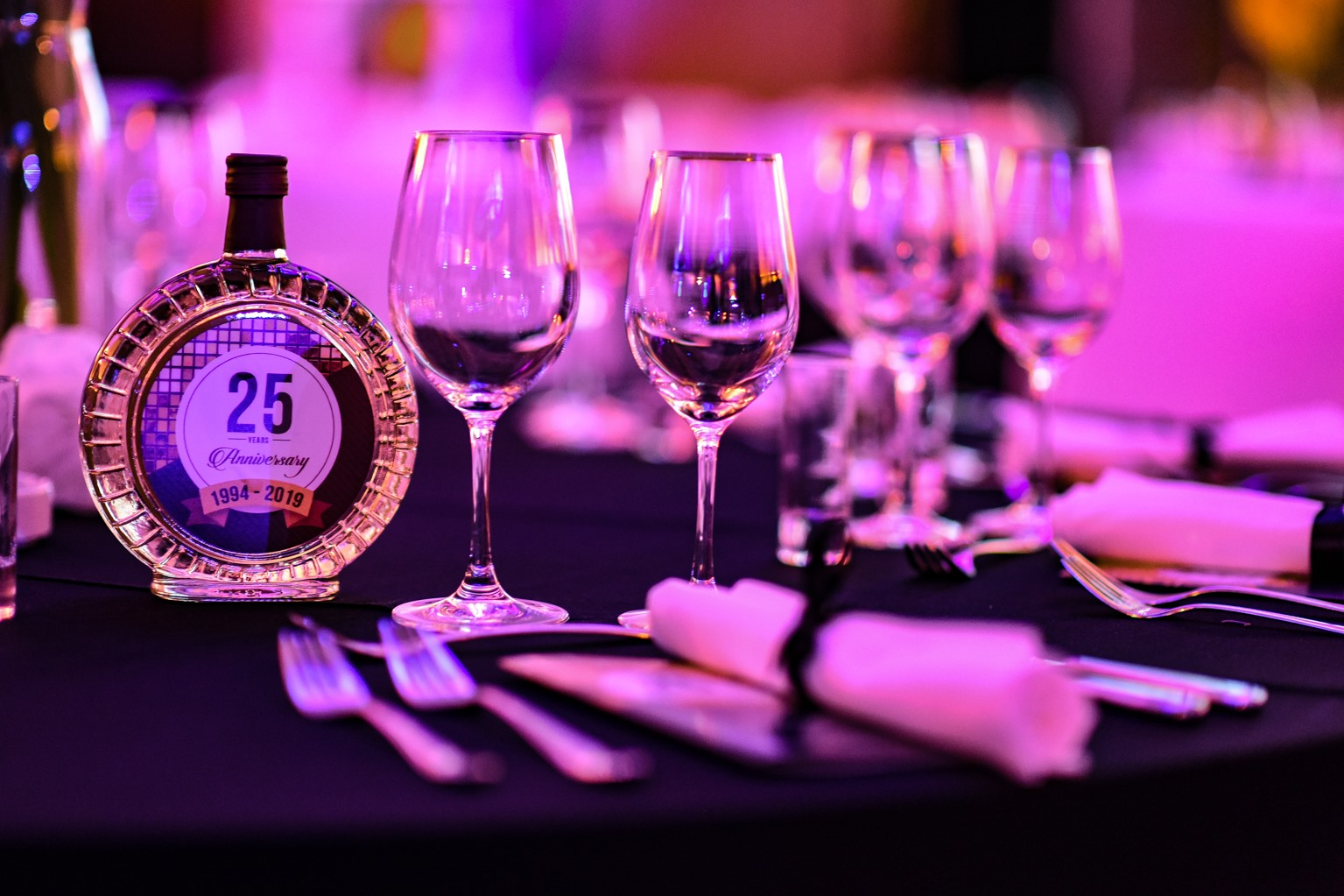 Celebrating 25 years of DIM Trade organized by Event Planner and Ana Aleksic - venue Crowne Plaza Hotel