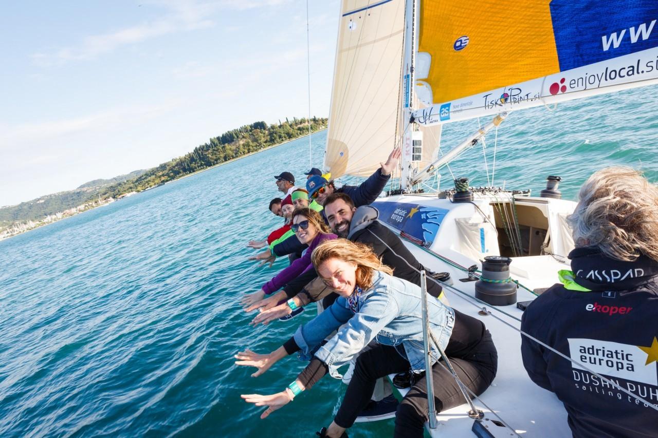 Meet and Match 2019 Portorož: Ana Aleksić i Event Planner, susret sa kolegama, regata