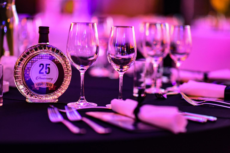 Proslava 25 godina kompanije DIM Trade u organizaciji Event Plannera i Ane Aleksić - sala - Crowne Plaza Hotel