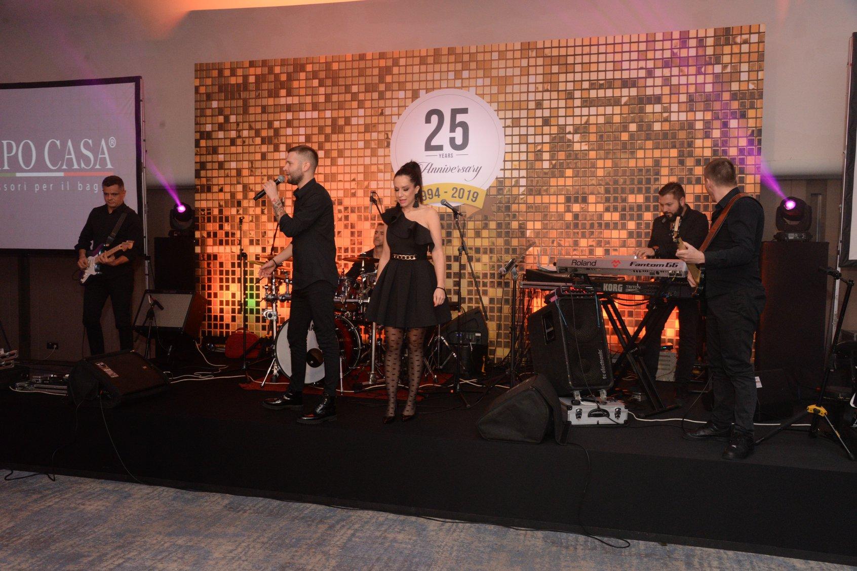 Proslava 25 godina kompanije DIM Trade u organizaciji Event Plannera i Ane Aleksić - Magla bend